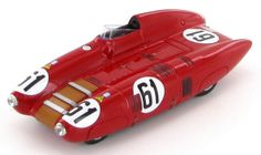 The Nardi Automobili Nardi 750 LM - Crosley of Dr Mario Damonte - Roger Crovetto as it was entered in the 1955 Le Mans race.