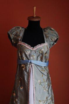 Adult Disneys Enchanted Giselle Regency Dress Costume