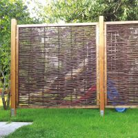Weidenrankgitter Spalier Ausziehbar Max 60x180cm Sichtschutzwande Sichtschutzwand Holz Sichtschutz Weide