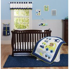 Carters On The Go Baby Bedding for Boys - bedtimebaby.com