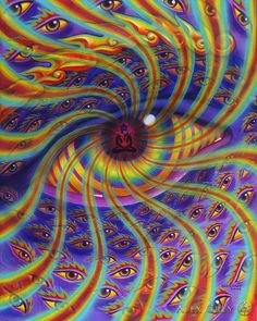 Liberation Through Seeings - Alex Grey - www.alexgrey.com / Sacred Geometry <3