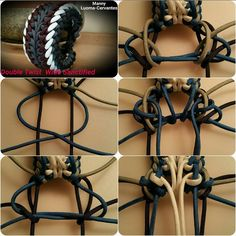 Double Twist Wide Sanctified | Swiss Paracord