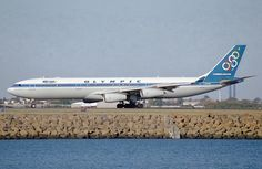 Olympic Airways A 340-313 (Olympia) [SX-DFA] Olympic Airlines, Greek Flag, Jet Plane, Olympia, Airplanes, Jet Set, Greece, Aviation, Aircraft