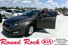 #HappyAnniversary to Rosa Waters on your 2013 #Kia #Optima from Ruth Largaespada at Round Rock Kia!