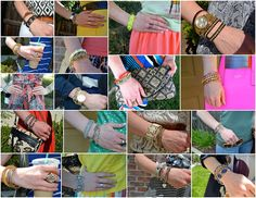 Particularly Practically Pretty: Summer arm parties // #armparty #bracelets #stelladot