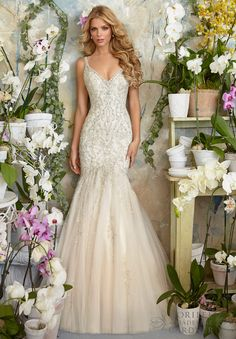 Wedding Dresses, Bridal Gowns, Wedding Gowns by Designer Morilee Dress Style 2823