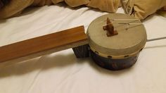 自作楽器研究所|Homemade Instruments: バンジョー・バイオリンのボディの位置を下げる|バンジョー・バイオリン