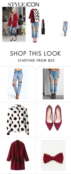 """Untitled #10"" by husovicmaja ❤ liked on Polyvore featuring moda, Forever 21, RED Valentino, Zara, Le Chateau y NARS Cosmetics"