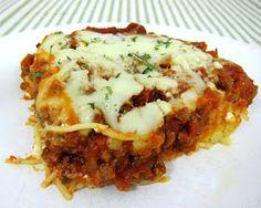 Plain Chicken: Spaghetti Casserole