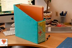 Про Скрап - Делаем коробку для скрап-бумаги