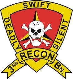 3rd Marines Div - 3rd Recon Bn patch Vietnam