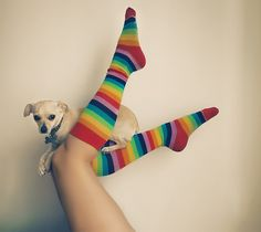 would love these socks! would where them on a rainy day!