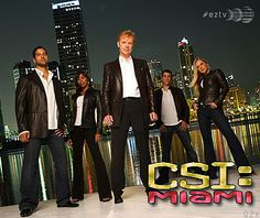 CSI Miami is my favorite among the three but I do love all three.