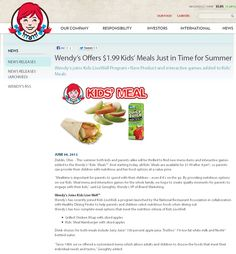 Pinned June 10th: Kids meals are $2 bucks after 4pm this summer at Wendys coupon via The Coupons App