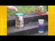 How to clean a swimming pool cartridge filter.