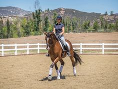 How to Ride Inside-Leg to Outside-Rein