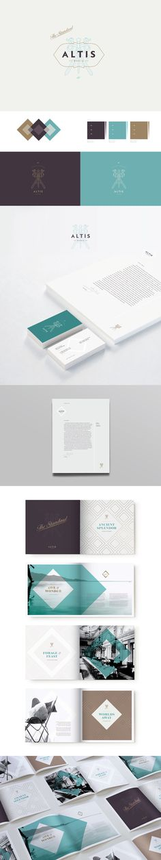Altis World Hotels by Ashley Flanagan, via Behance