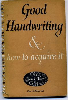 How to Improve Your Handwriting Style in 7 Steps.  My 17 yr old grandson can not read cursive.  They don't teach it to kids anymore.  A dying art.