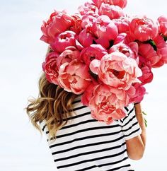 glamour:   Stripes and flowers. Via Pinterest | Preppy In Pulitzer