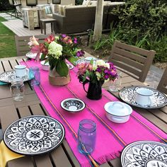 Our jerga table runner is great for outdoor, rustic, bohemian parties or girls night! Starting at just $11.95
