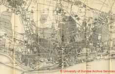 1908 Section from Map of Dundee from 1908 Dundee Directory University of Dundee Archives KLoc 914.131 DD