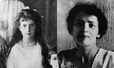 The real Anastasia, left, was 17 when she was executed. DNA verified none of the family survived.
