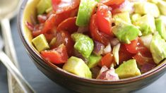 Make and share this Simple Tomato and Avocado Salad recipe from Genius Kitchen.