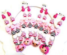 Lalaloopsy Inspired Girls Chunky Boutique by BEAutifulUpcycle