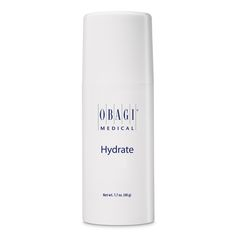 Obagi Hydrate is a daily face moisturiser suitable for all skin types. It combats skin dryness and provides all day hydration.
