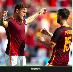"""TUTTO CALCIO : Pjanic: """"Totti è magico, lui è la Roma"""""""