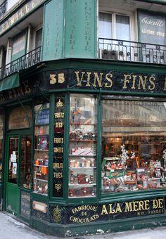 À la mère de famille chocolate shop, Paris