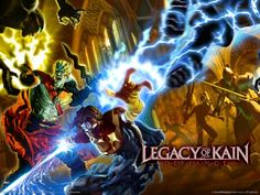 Legacy of Kain: Defiance – Interjú két vámpírral Legacy Of Kain, Video Game Collection, Command And Conquer, Video Game Characters, Video Games, Things To Come, Retro, Halloween, Movie Posters