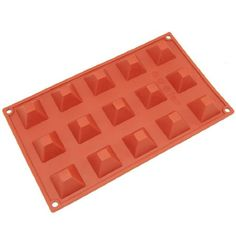 Freshware Silicone Mini Pyramid Chocolate Candy and Gummy Mold *** To view further for this item, visit the image link. (This is an affiliate link) Silicone Bakeware, Silicone Molds, Gummy Molds, Candy Making Supplies, Baking Supplies, Chocolate Candy Molds, Soap Molds, Home Made Soap, Mold Making