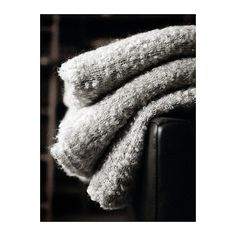 I love throw blankets! I think it's b/c they conjure visions of snuggling on the couch with a cup of tea and a good book