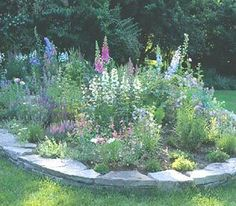 Building a Flower Bed without Digging