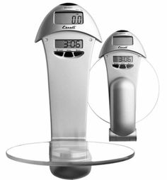 Escali #63W Penduline Wall Mountable Digital Scale by Escali. $61.13. High tech design. Capacity: 6 pound or 3000 gram. Lifetime warranty; Tempered (removable) glass platform for fast and easy clean up. Measures in ounces, pounds + ounces or grams. Accurately measures in 0.1 ounce or 1 gram increments.. The Escali Penduline is like having an extra hand.  It is out of the way functionality.  Stylish, wall mountable, digital scale with the fold away platform will make weig...