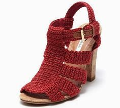 Crochet Shoes. Crochet zapatos