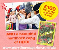 Win Heidi and Kidsorted party goodies with Storytime Issue 14! ~ STORYTIMEMAGAZINE.COM