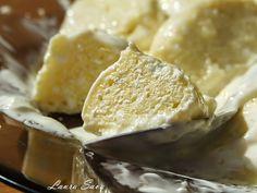 Papanasi cu branza de vaci | Retete culinare cu Laura Sava Mai, Easy Desserts, Camembert Cheese, Bacon, Deserts, Food And Drink, Cooking Recipes, Sweets, Snacks