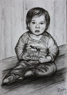 Kindertekening van Majong - 50plusser.nl - Majong