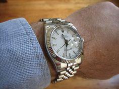Datejust with a suit/shirt - show me your photos please - Rolex Forums - Rolex Watch Forum