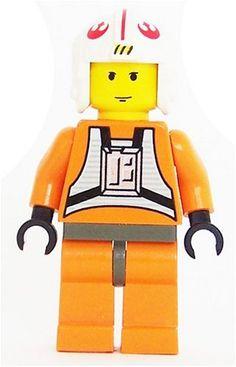 Luke Skywalker Pilot YF  LEGO Star Wars 2 Figure *** Visit the image link more details.