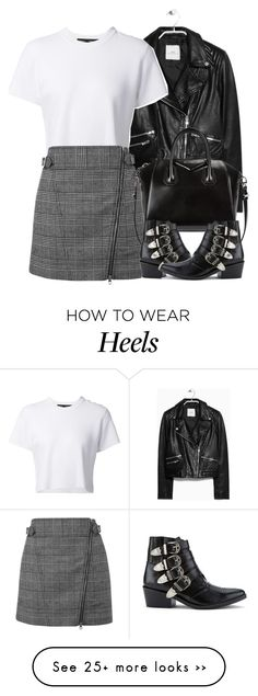 """""""Untitled #3770"""" by london-wanderlust on Polyvore featuring мода, MANGO, Proenza Schouler, Topshop, Givenchy и Toga"""