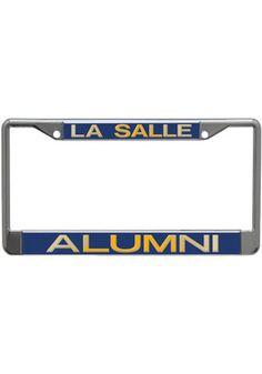 La Salle Explorers Chrome Alumni License Frame