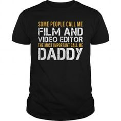 Awesome Tee For Film And Video Editor #fashion #clothing. FASTER: => https://www.sunfrog.com/LifeStyle/Awesome-Tee-For-Film-And-Video-Editor-143370818-Black-Guys.html?60505