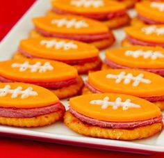 For gameday. Of course, I'd make them with Longhorn Cheddar.