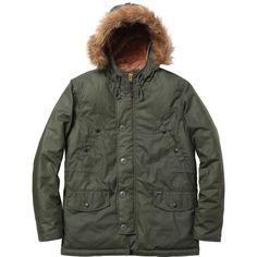 Supreme Waxed Cotton N-3B Jacket