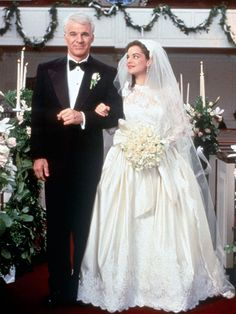 The 15 Best Movie Wedding Dresses!  -- Father of the Bride( My all time favorite wedding movie)!