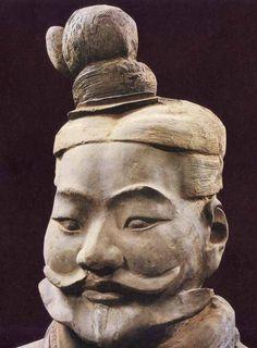 Xian Terracotta soldier. III B.C.