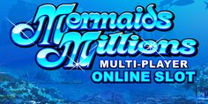 Play Mermaids Millions online #casino slots at Vegas Paradise. Avail £5 bonus on sign up and enjoy a sea of huge real #money wins